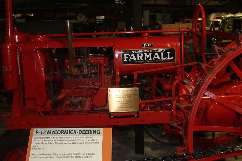 1937 McCormick-Deering tractor