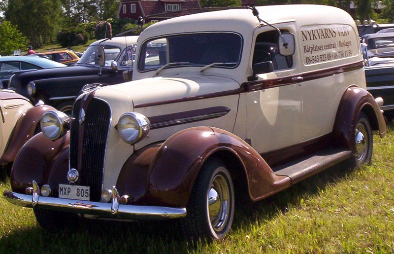1937 Plymouth PT50 Delivery truck