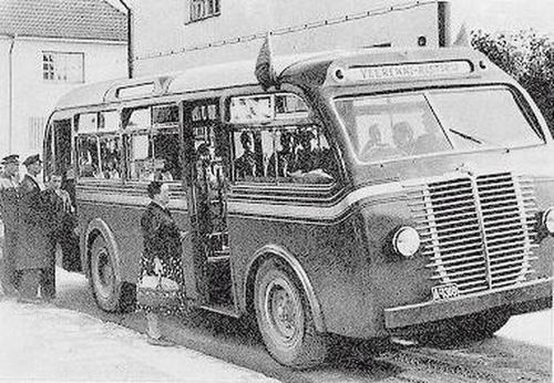 1938 Büssing-NAG model bus