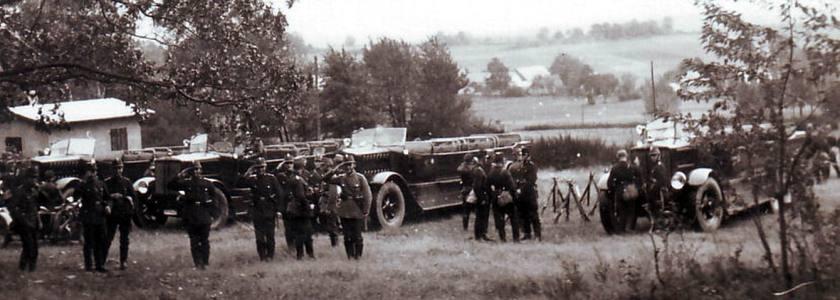 1938 Büssing polizeibus