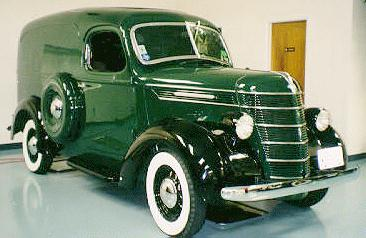 1938 international 6cyl deluxe paneltruck