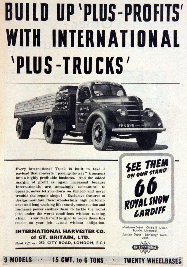 1938 International Harvester Ad
