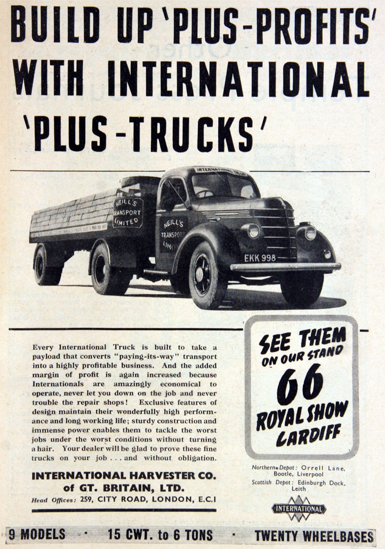 1938 International Harvester Ad