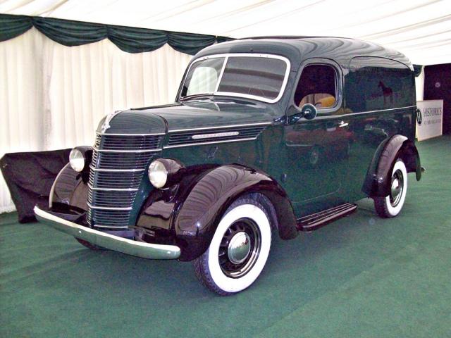 1938 International Harvester D Series Panel Van