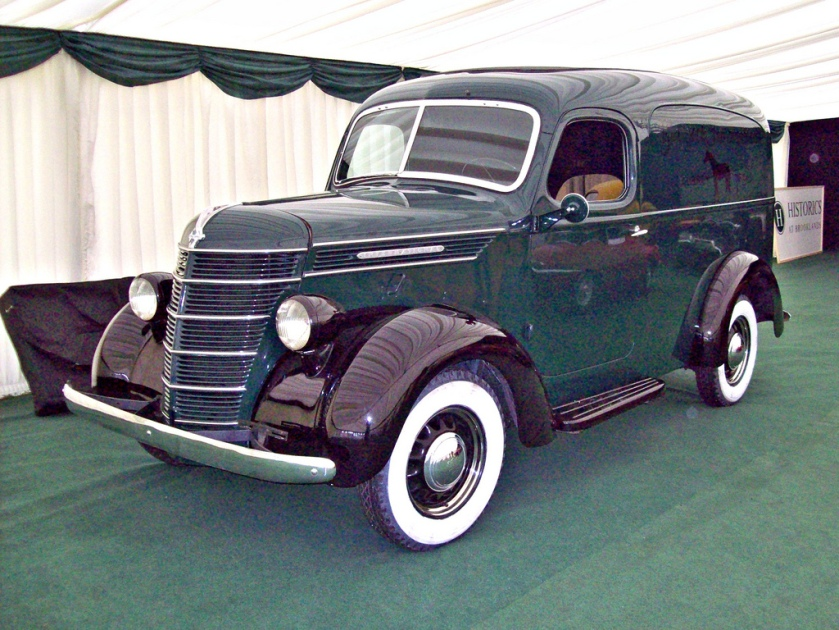 1938 International Harvester D Series Panel Van