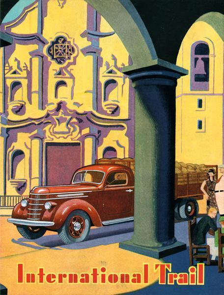 1938 International Trail Magazine Cover