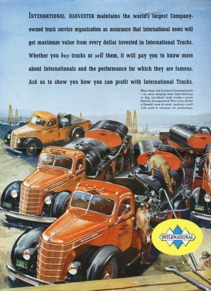 1938 International Trucks Advertisement