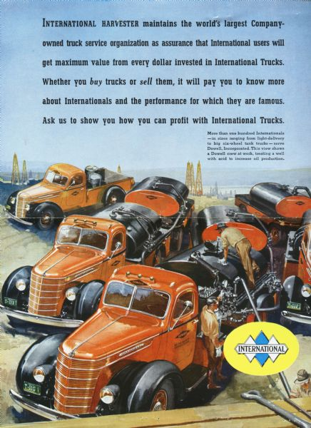 1938 International Trucks Advertisement