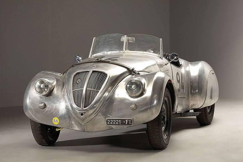 1938 Lancia Aprilia Zagato Aluminium 1.4 Liter V4 - Italia