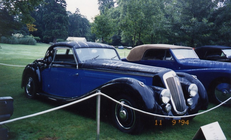 1938 Lancia Astura Sports Coupé Pourtout a