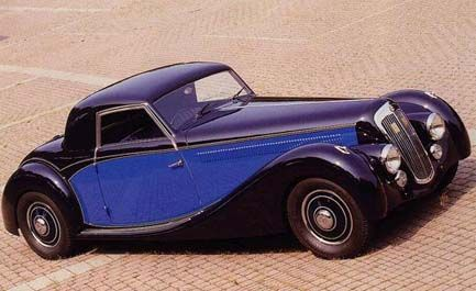 1938 Lancia Astura Sports Coupé Pourtout