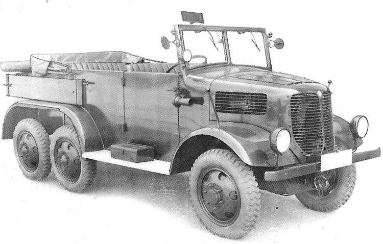 1938 Tatra T-93 Velitelský break