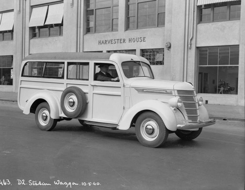 1939 International Harvester woodie wagon 1939
