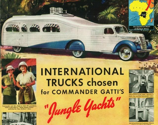1939 International Jungle Yacht Truck, Commander Gatti