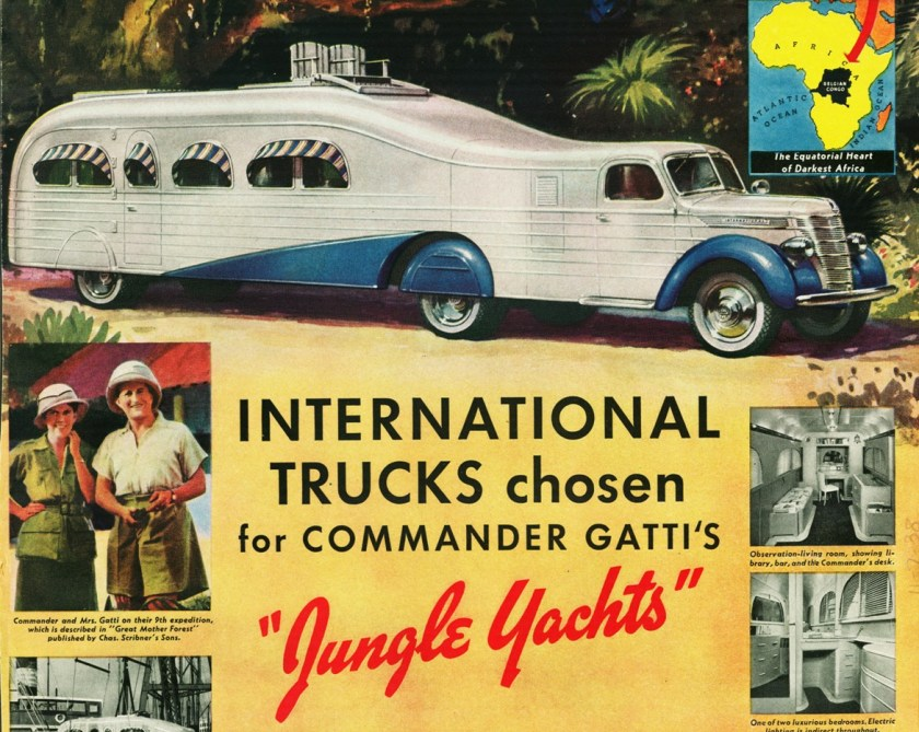 1939 International Jungle Yacht Truck, Commander Gatti