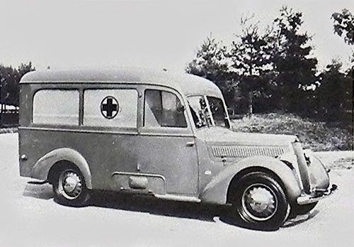 1939 Lancia Artena Ambulance