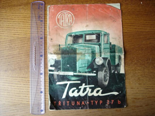 1939 TATRA 27 B PROSPEKT 8 STRAN C. 1939