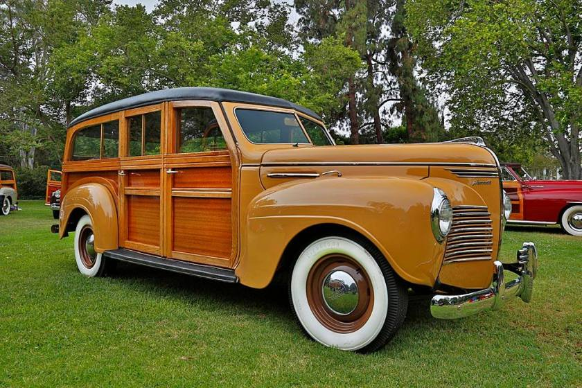 1940 De Luxe Plymouth Station Wagon