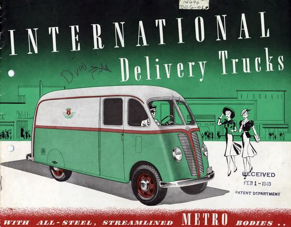 1940 International METRO Delivery Trucks