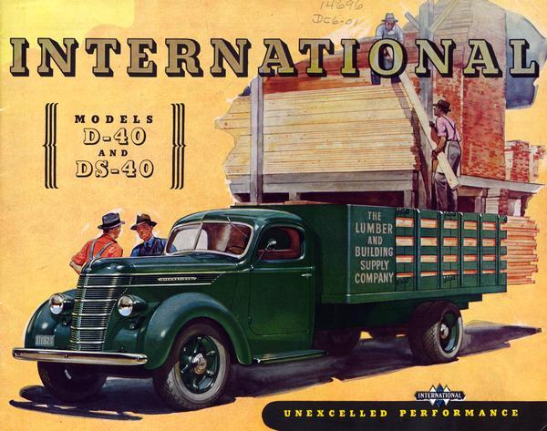1940 International Model D-40 and DS-40 Trucks