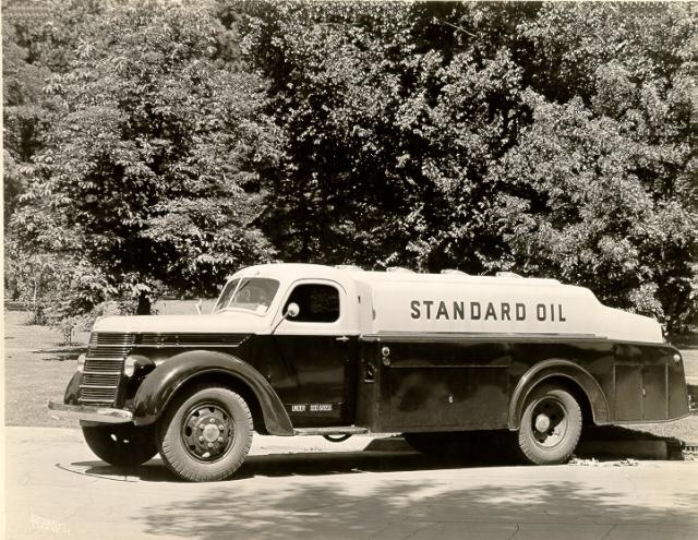 1940 International model D International owned by Standard Oil