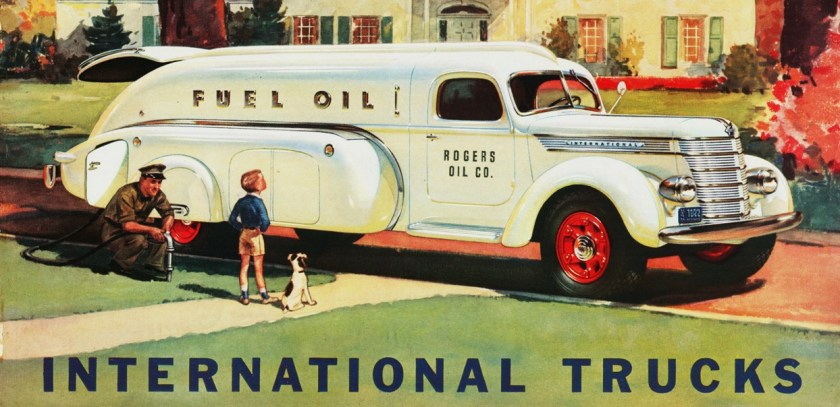 1940 International Tanker Truck ad