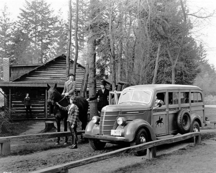 1940 International Woodie Station Wagon