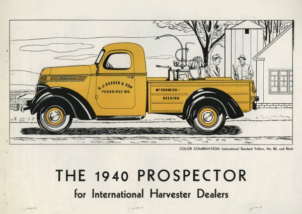 1940 Prospector for International Harvester Dealers
