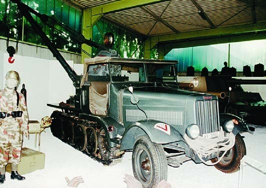 1941 Büssing-NAG BN9 recovery vehicle
