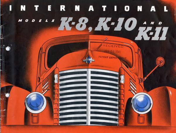 1941 IH Models K-8, K-10, and K-11 Trucks