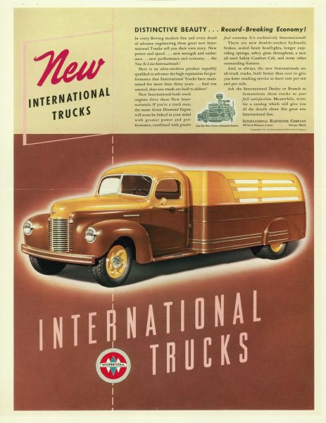 1941 International Harvester Truck Advertising Proof