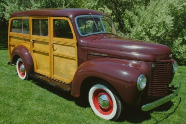 1941 International Harvester woodie wagon