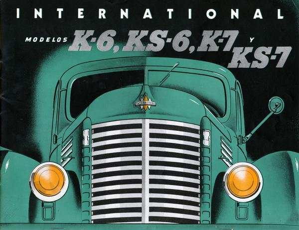 1941 International Modelos K-6, KS-6, K-7 and KS-7 Trucks