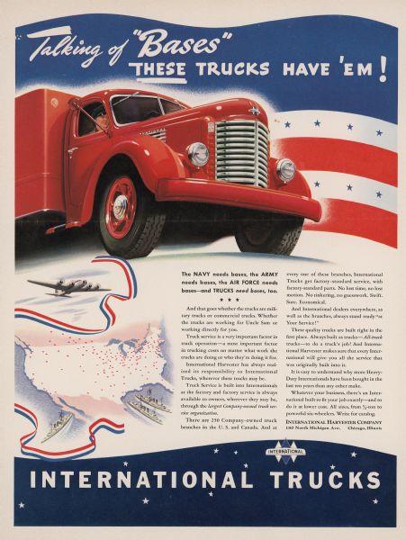 1941 International Truck Advertising Proof b