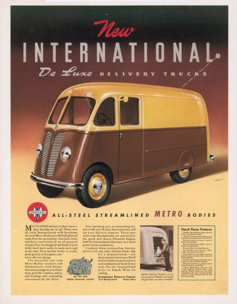 1941 International Truck Advertising Proof