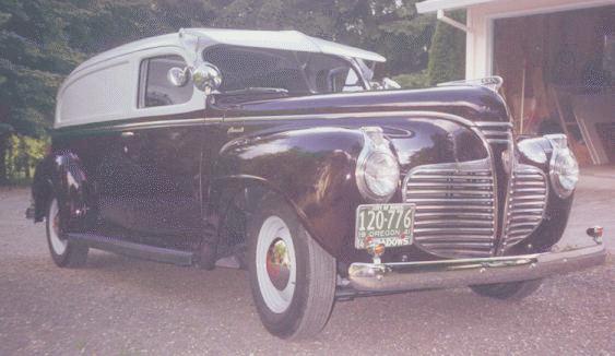 1941 plymouth sedan delivery