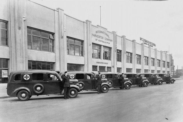 1942 International Harvester Ambulances