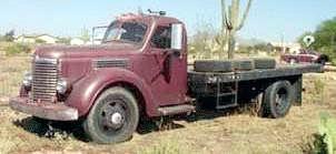 1942 International K6flatbed