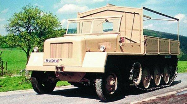 1943 Büssing-NAG SWS heavy tractor
