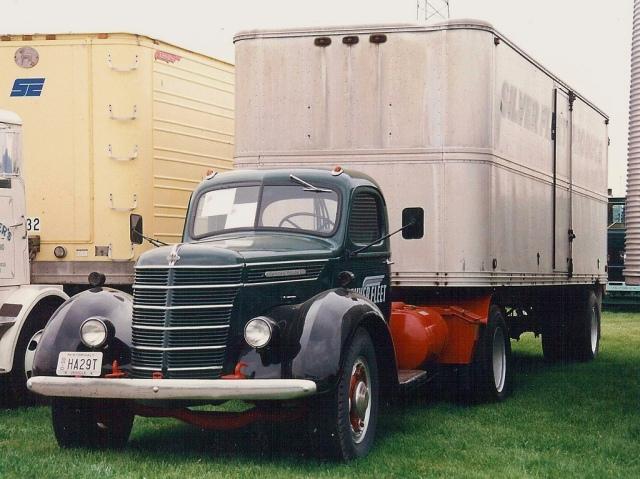1943 International Harvester D series