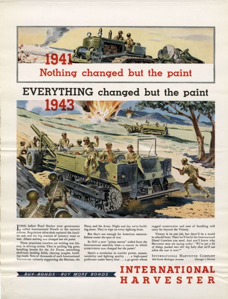 1944 Everything Changed But The Paint