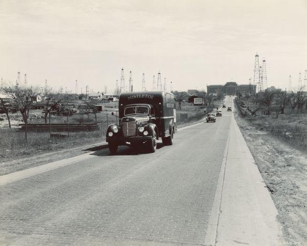 1944 International Truck Operated by Mistletoe Express Service, Inc