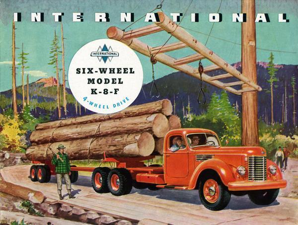 1945 International Model K-8-F Truck