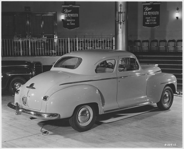 1946 Plymouth Special Deluxe P15C Club Coupe