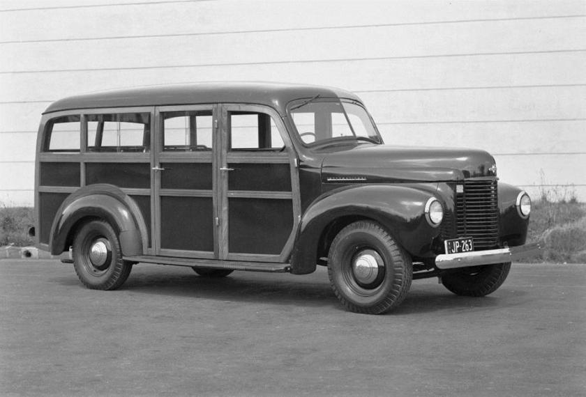 1947 International Harvester, K Line Station Wagon