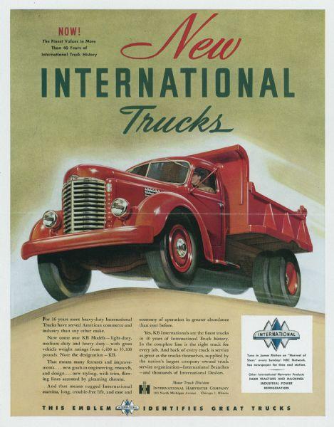 1947 International Truck Advertising Proof b