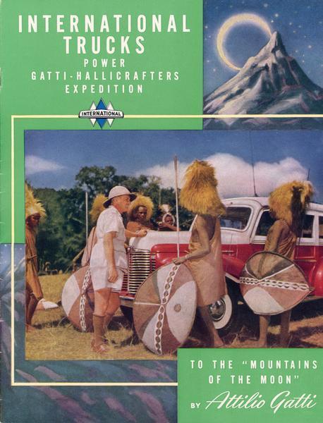 1947 International Trucks Gatti-Hallicrafter's Expedition to Africa