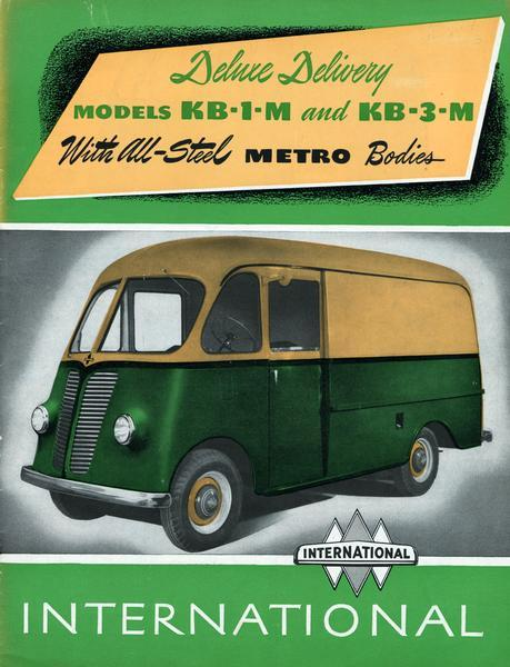 1948 International KB-1-M and KB-3-M Metro Delivery Trucks