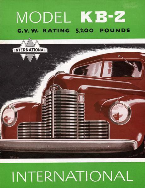 1948 International Model KB-2 Trucks