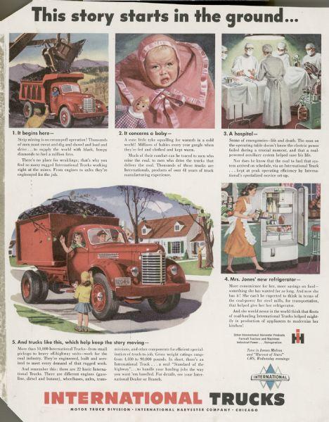 1948 International Truck Advertising Proof